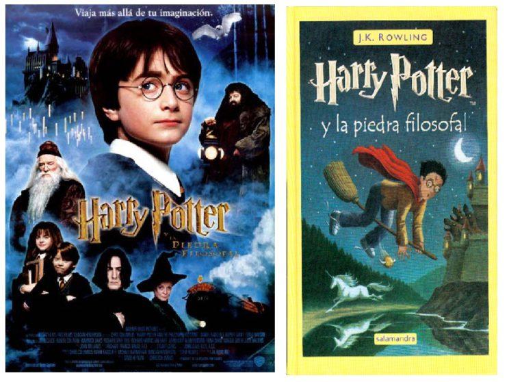 Película y libro de Harry Potter // FOTO: (c) Mubis